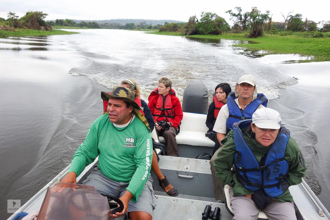 Exkursion auf dem Rio Paraguay