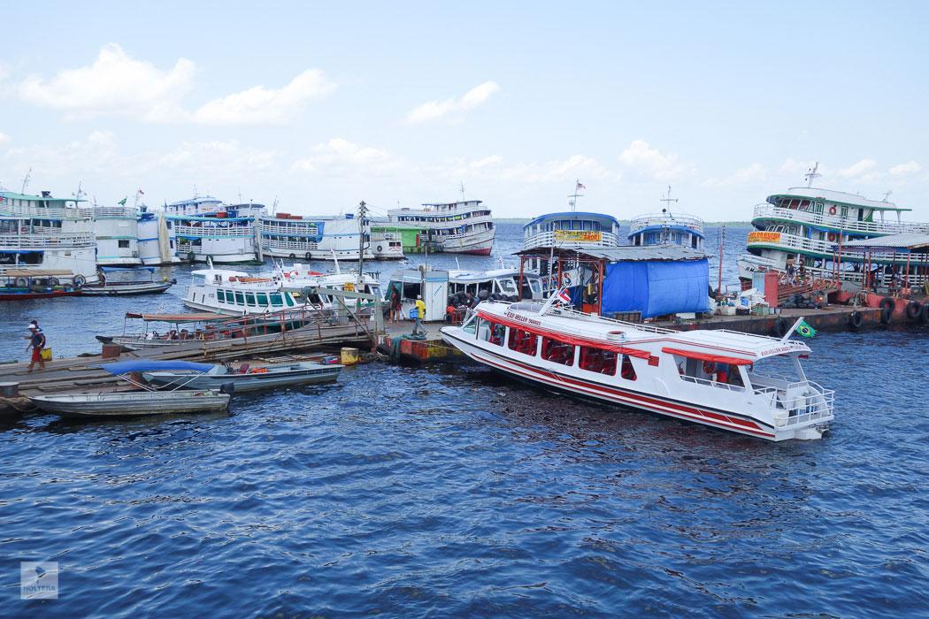Manaus Hafen