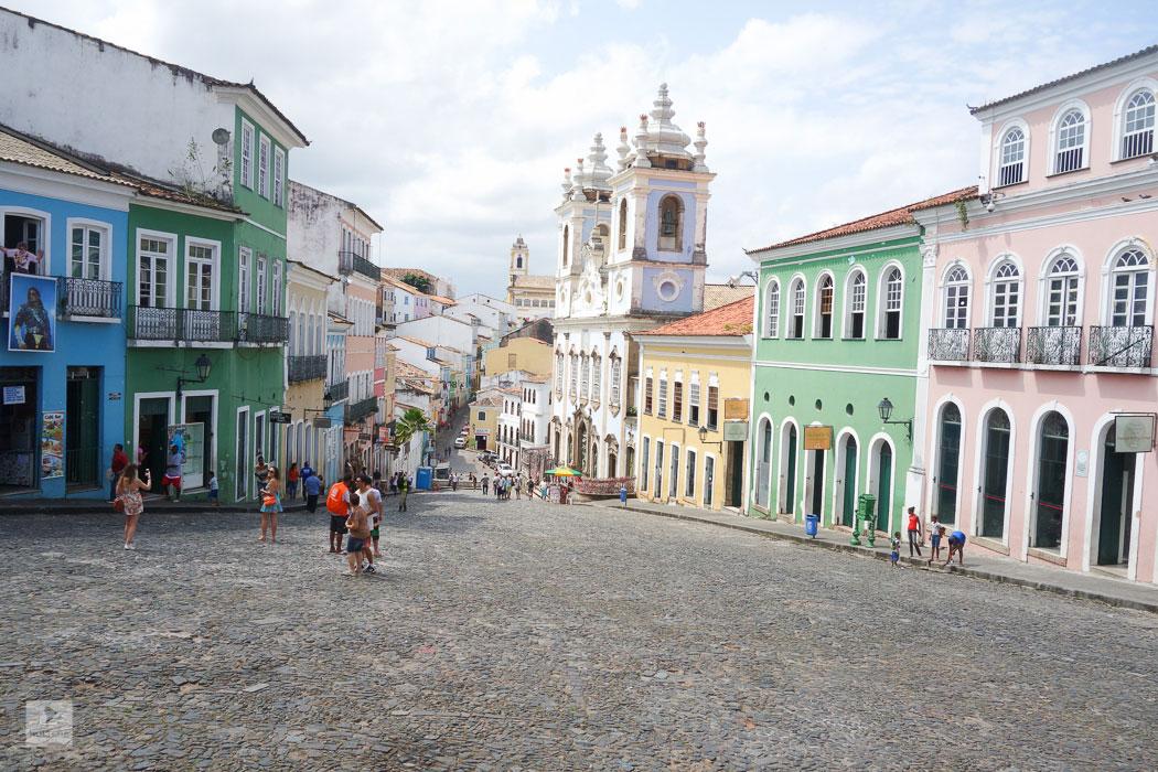 Igreja de Rosário das Pretos – Kirche der Schwarzen im Pelourinho