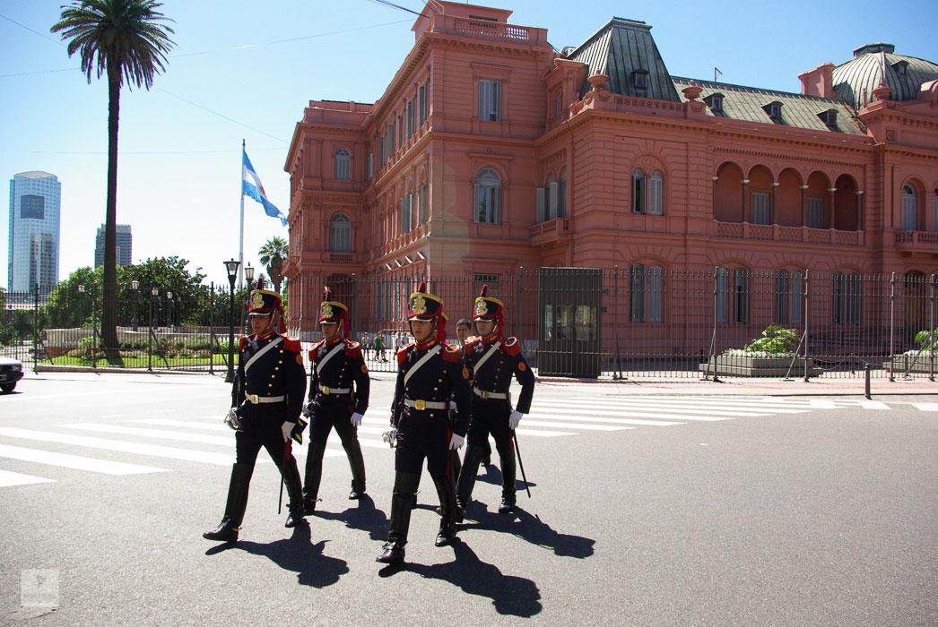 Präsidentenpalast – Casa Rosada