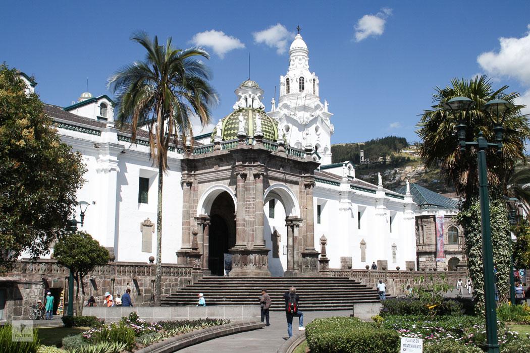 Ecuador Galapagos Rundreise – Kathedrale in Quito